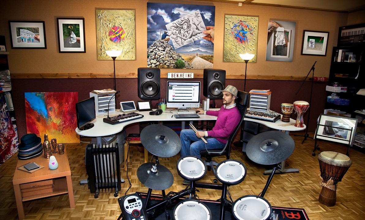 Ben Heine Music Studio