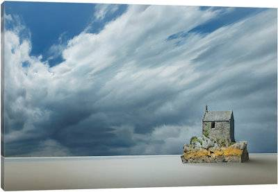 Lonely House - Canvas Print