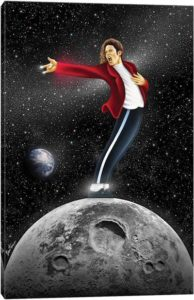Michael Jackson, Beat It - Canvas Print
