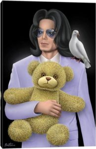 Michael Jackson - Eternal Child - Canvas Print