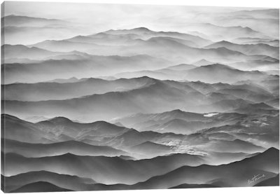 Ocean Mountains - Canvas Print