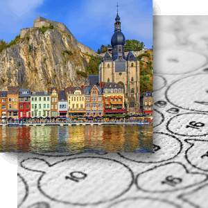 2 Paint by Numbers - Ben Heine Art - Craft Ease - Peinture a Chiffres