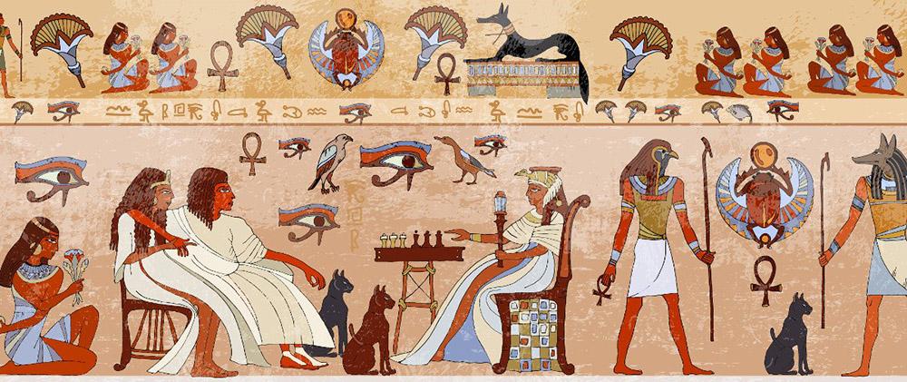 Ancient Art Egypt - Main Art Movements - Ben Heine Blog
