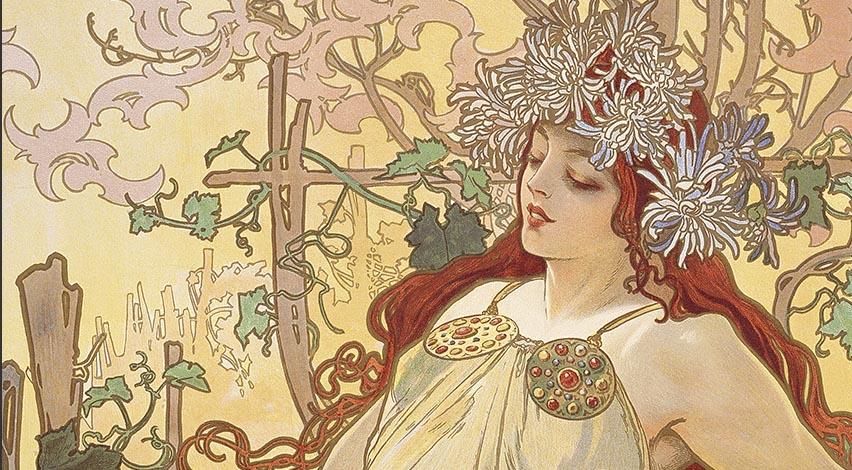 Art-Nouveau-Mucha-33-major-Art-Movements - Ben Heine Blog