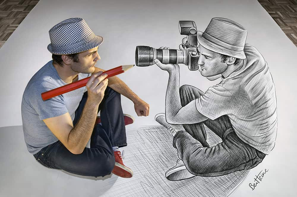 Image 1 - History of Art - 33 major Art Movements and their influence on the Art World - Pencil Vs Camera - 73 (Ben Heine Art)