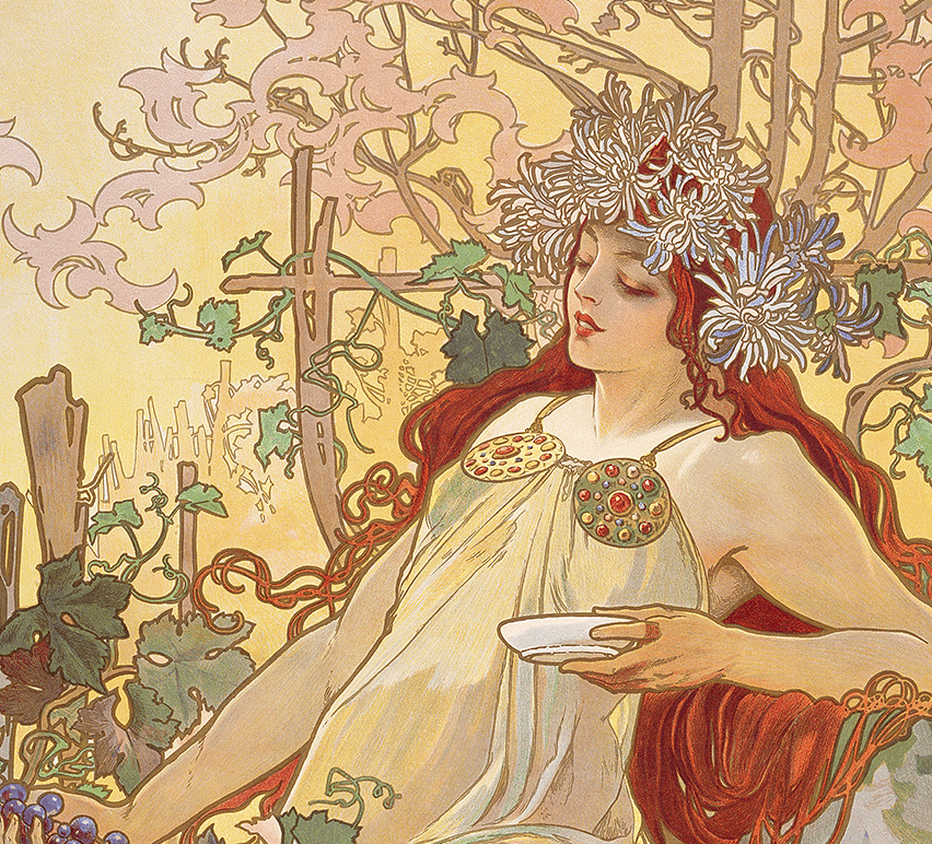 Image 15 - Art Nouveau Mucha - 33 major Art Movements