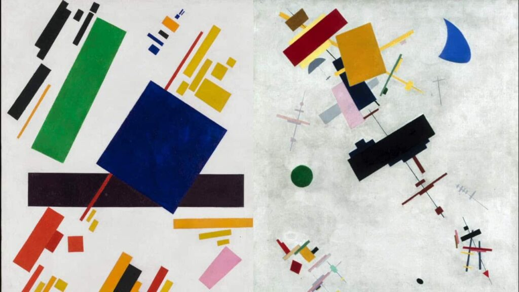 Image 8 - Suprematism Art - Malevich - 33 major Art Movements and their influence on the Art World - Pencil Vs Camera - 73 (Ben Heine Art)