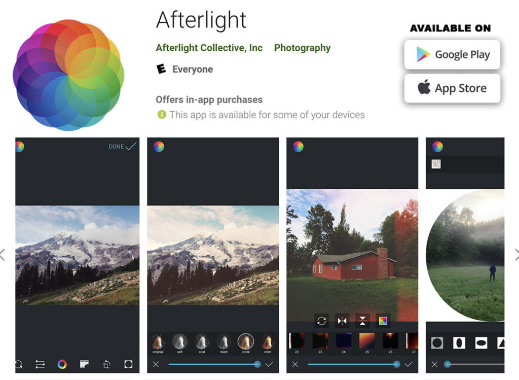 Image 18 - Afterlight - mobile apps to retouch, edit and enhance your photos copie