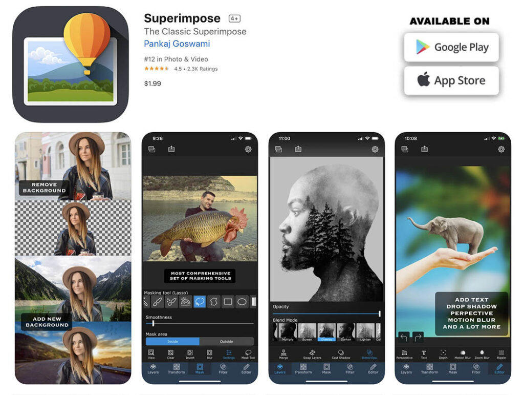 Image 20 - Superimpose - mobile apps to retouch, edit and enhance your photos copie