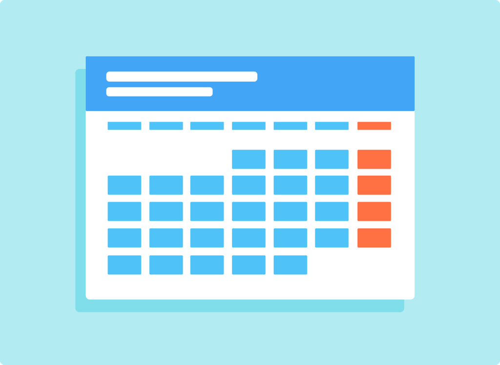 Image 8 - Calendar - branding tips and ideas to ensure your website is good looking interesting and profitable