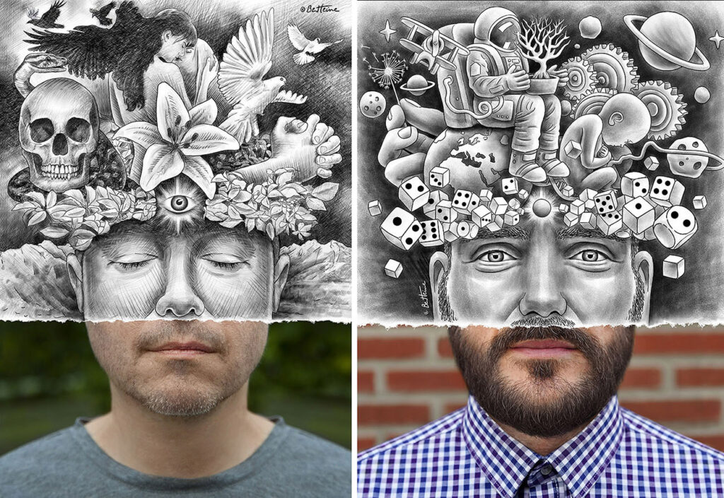 Image 1 - tips to improve your drawing skills - ben heine