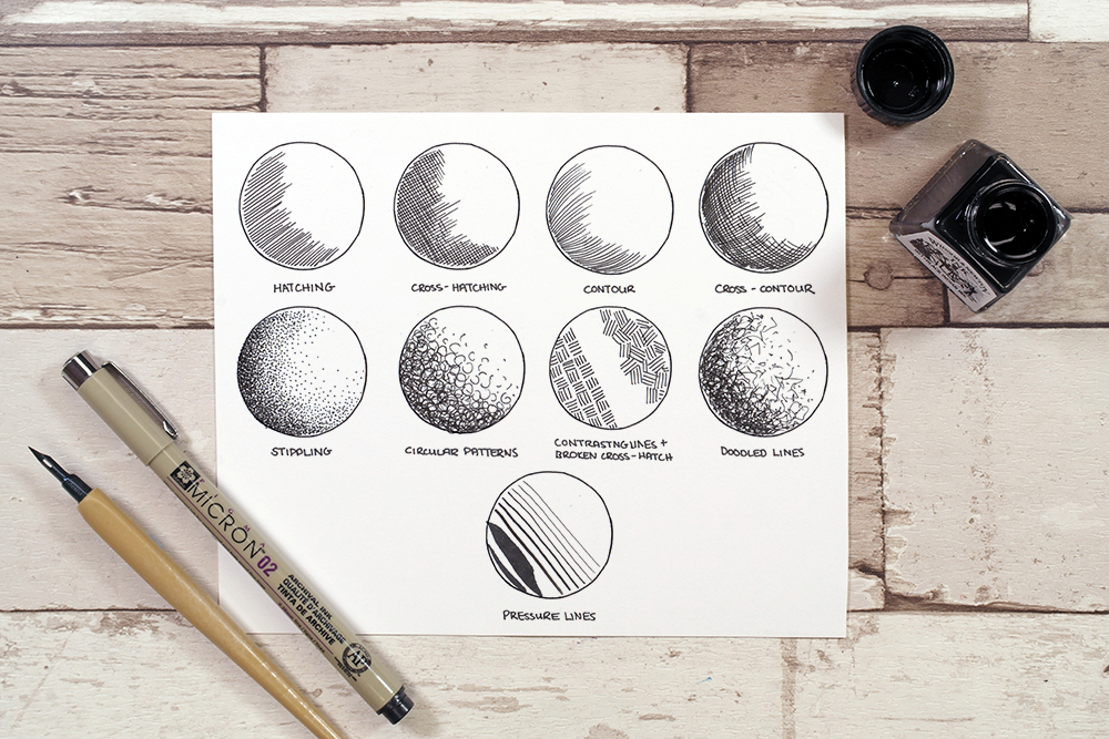 Image 6 - tips to improve your drawing skills - ben heine