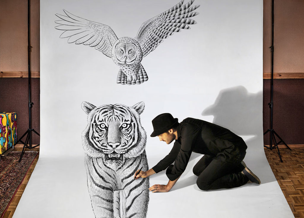 Image 7 - tips to improve your drawing skills - ben heine