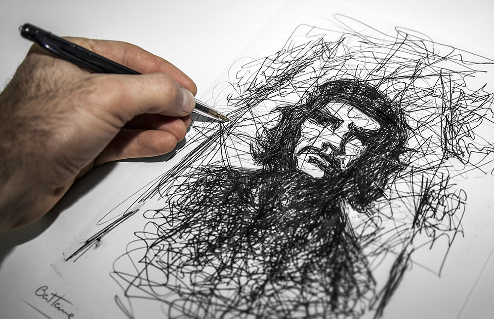 Image 8 - Drawing tips tuto - Challenge yourself daily, work hard